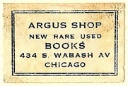 Argus Shop, Chicago, Illinois (29mm x 19mm). Courtesy of S. Loreck.