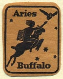 Aries Press [?], Buffalo, New York (20mm x 26mm). Courtesy of Donald Francis.
