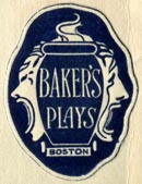 Baker's Plays, Boston, Massachusetts (21mm x 28mm, after 1928).