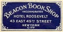 Beacon Book Shop, New York, NY (21mm x 11mm)