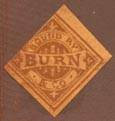 Burn & Co. (19mm x 19mm, as is, ca.1869)