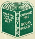 Foyles, Charing Cross Rd, London (20mm x 22mm, ca.1961)
