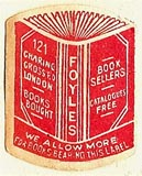 Foyles, London, England (20mm x 25mm). Courtesy of S. Loreck.
