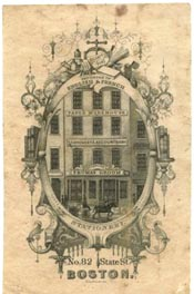 Thomas Groom & Co, Boston, Massachusetts (28mm x 43mm)