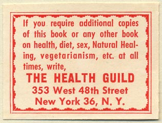 Health Guild, New York (51mm x 38mm)