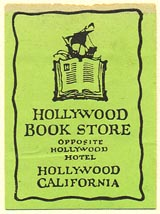 Hollywood Book Store, Hollywood, California (25mm x 35mm)