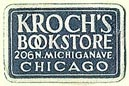 Kroch's Bookstore, Chicago, Illinois (20mm x 13mm). Courtesy of S. Loreck.