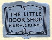 The Little Book Shop, Hinsdale, Illinois (28mm x 22mm)