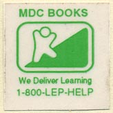MDC Books (26mm x 25mm). Michael di Capua Books? (Imprint of Scholastic). Courtesy of Donald Francis.