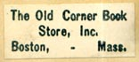 The Old Corner Book Store, Boston, Massachusetts (25mm x 10mm, after 1922). Courtesy of Robert Behra.