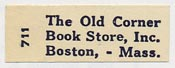 The Old Corner Book Store, Boston, Massachusetts (28mm x 10mm).