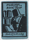 Peabody Book Shop, Baltimore, Maryland (18mm x 26mm).