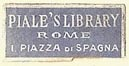 Piale's Library, Rome, Italy (20mm x 9mm). Courtesy of S. Loreck.