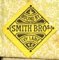 Smith Bros [binders], London, England (19mm x 20mm, ca.1890s)