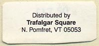 Trafalgar Square Books, Books on Horses, North Pomfret, Vermont (32mm x 15mm)