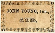 John Young, Jr., Ayr, Scotland (32mm x 18mm). Courtesy of S. Loreck.