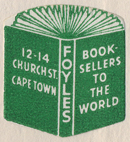 Foyles, Cape Town, South Africa (21mm x 22mm, c.1967).