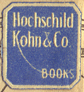 Hochschild Kohn & Co., Baltimore, Maryland (13mm x 14mm, c.1920s). Courtesy of Third Place Books.
